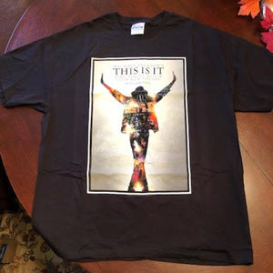 Michael Jackson This is It T-Shirt XL - Never Worn